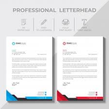 Professional Company Letterhead Letterhead Vectors Photos And Psd Files Free Download