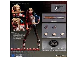 """Action Figures Action Figure Suicide Squad In STOCK Mezco Toyz One 12 DC  """"Harley Quinn"""" thebarbers.ch"""