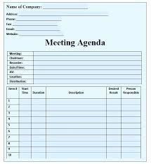 sample agendas for staff meetings staff meeting agenda template b2u info