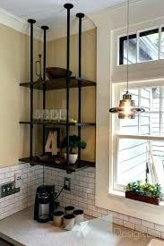suspended shelf shelves kitchen diy garage