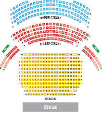 Theatre Royal Wakefield Seating Plan View The Seating