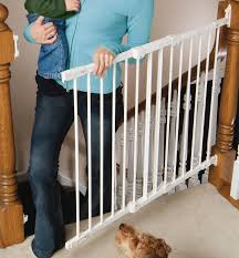 Extra Wide Baby Gate Pressure Mounted Regalo Safety Gates For Stairs ...