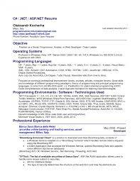Computer Programmer Analyst Sample Resume Computer Programmerme Samples Examples Analyst Sample Skills 13