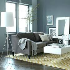 what color goes with gray furniture grey couch decor living room ideas sofa new neutral paint