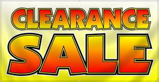 Image result for furniture clearance signs