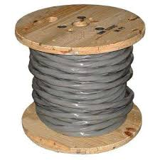 Service Entrance Cable Size Chart 250 Ft 4 0 4 0 4 0 2 0 Gray Stranded Al Ser Cable