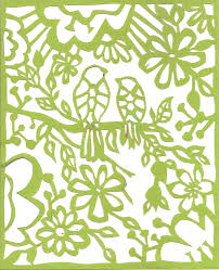 Paper Cutting Patterns Simple Pattern Paper Cutting Holaklonecco