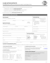 Membership Dues Template 5 Expert Tips To Improve Your Membership Application Form