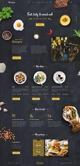 Restaurant Website Design Food Home Page Copy Restaurant Website Design Food