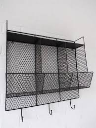 black metal kitchen shelves