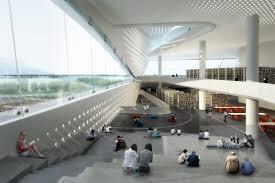 Modern Architecture: Dalian Public Library by 10 Design, Dalian, China