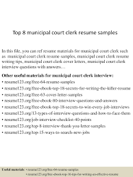 Municipal Court Clerk Sample Resume Top224municipalcourtclerkresumesamples224lva224app62249224thumbnail24jpgcb=2242432422457595 18