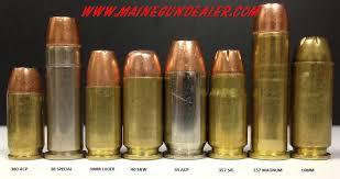 Handgun Ammo Chart 20 Disclosed Ammunition Caliber Chart