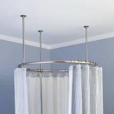 Ceiling Mounted Shower Curtain Rods ceiling mount shower curtain rod canada home design ideas 5488 by xevi.us