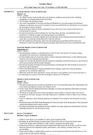 project scheduler resumes delighted manufacturing scheduler resume photos example resume and
