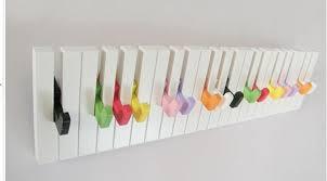 Creative Coat Rack Piano hook coat rack decorative hook creative fashion coat hook wall 42
