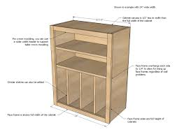Simple Furniture Plans Ana White Build A Wall Kitchen Cabinet Basic Carcass Plan Free