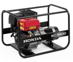 electric generators. HONDA EC3600 Electric Generator Generators