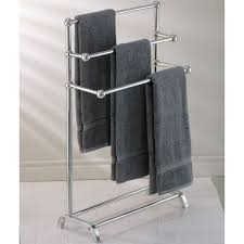 mercer towel stand modern towel racks amp stands by pottery barn
