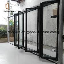 germany brand hardware aluminium bi folding door