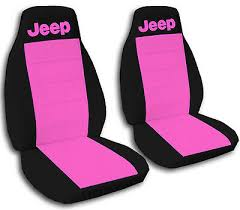 jeep wrangler seat covers hot pink