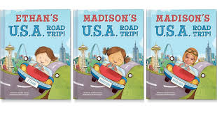New Personalized Road Trip Book Offers Solution to Children\u0027s ...