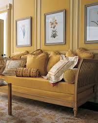Orange And Yellow Living Room Yellow Rooms Martha Stewart