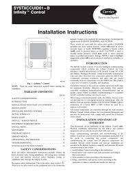 hvac thermostat wiring diagram inspirational carrier infinity of 11 carrier infinity heat pump wiring diagram carrier infinity systxccuid01 b page1 20 thermostat wiring hvac thermostat wiring diagram