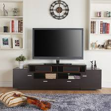 furniture of america braswell 72 tv stand in cappuccino idi 141009