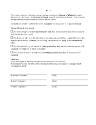 Free Iou Format I O U Contract Hashdoc I O U Form Templates Printable