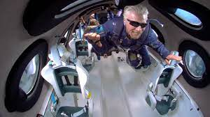 Spaceship carrying Richard Branson flew ...
