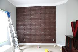 fake brick wall ideas home inspirations