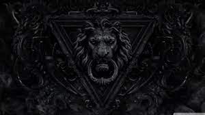 Dark Gothic Lion Ultra HD Desktop ...
