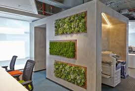 office greenery. A Modern/industrial Way To Add Greenery In The Office At CA Technologies São X
