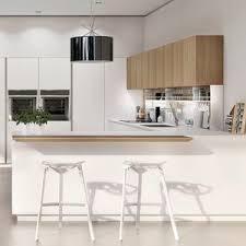 contemporary kitchen furniture detail. Contemporary Kitchen / Oak Lacquered Glass Steel Furniture Detail