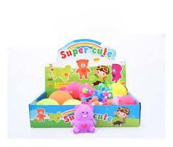 <b>Развивающая игрушка Junfa</b> антистресс <b>Мялка</b>-колючка Медведь ...
