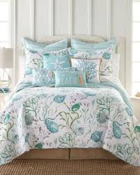 coastal quilt sets. Grand Cayman Teal Luxury Quilt Coastal Sets
