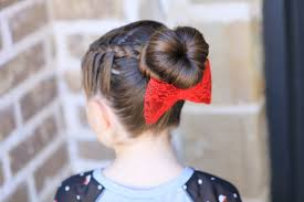 Sock Bun Hair Style how to create a love bun valentines day hairstyles cute girls 3298 by wearticles.com