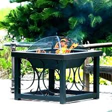 cast iron outdoor fire bowl pit grill by pits harbour housewares garden