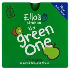 Ella's Kitchen The <b>Green One</b> Multipack 450G - Tesco Groceries