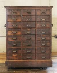 wood storage cabinets with locks. rolling apothecary wooden storage cabinet vintage industrial with brass hardware wood cabinets locks