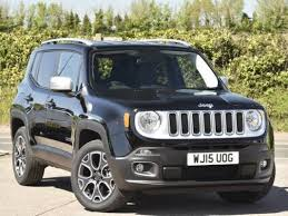 jeep 2015 renegade black. Fine Jeep Used 2015 15 Reg Solid Black Jeep Renegade 20 Multijet Limited 5dr 4WD  For Sale On RAC Cars On Y