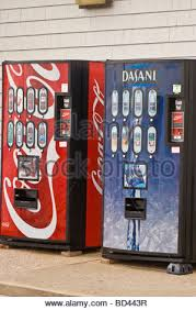 Vending Machine Theft Prevention Best Vending Machines With CocaCola And Dasani Water Drinks With Stock
