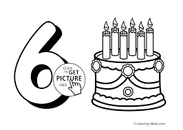 Small Picture Numbers Coloring Pages Printable Free Coloring Pages