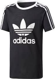 adidas 004001. adidas originals girls\u0027 3-stripes trefoil t-shirt 004001 z