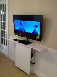 wall mounted tv floating tv stand