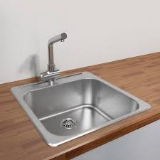 kitchen sink 16 gauge stainless steel sink single bowl kitchen sink top mount single sink