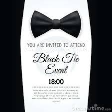 Black Tie Event Invitation Wording Free Black Tie Event Invitation