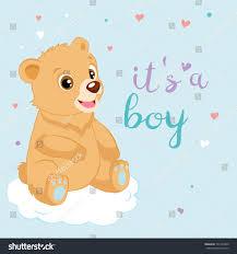 Teddy Bear Design Cute Cartoon Teddy Bear Design Vector Stock Vector Royalty
