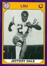 Amazon.com: Jeffery Dale Football Card (LSU) 1990 Collegiate ...